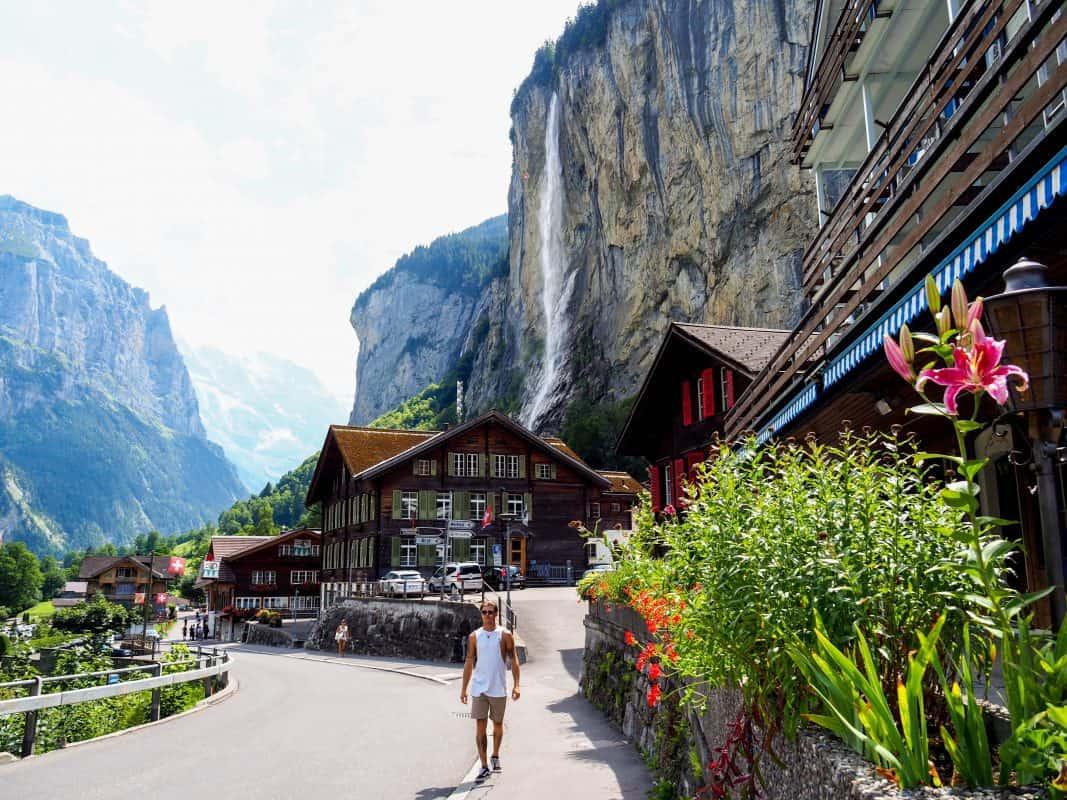 switzerland itinerary, lauterbrunnen