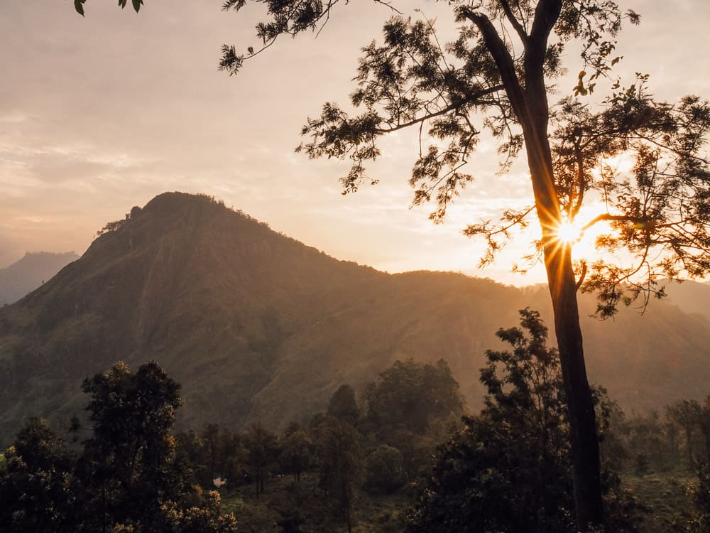 LITTLE ADAM'S PEAK IN ELLA, SRI LANKA