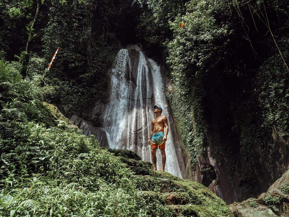 DUSUN KUNING (YELLOW WATERFALL) IN BALI, INDONESIA