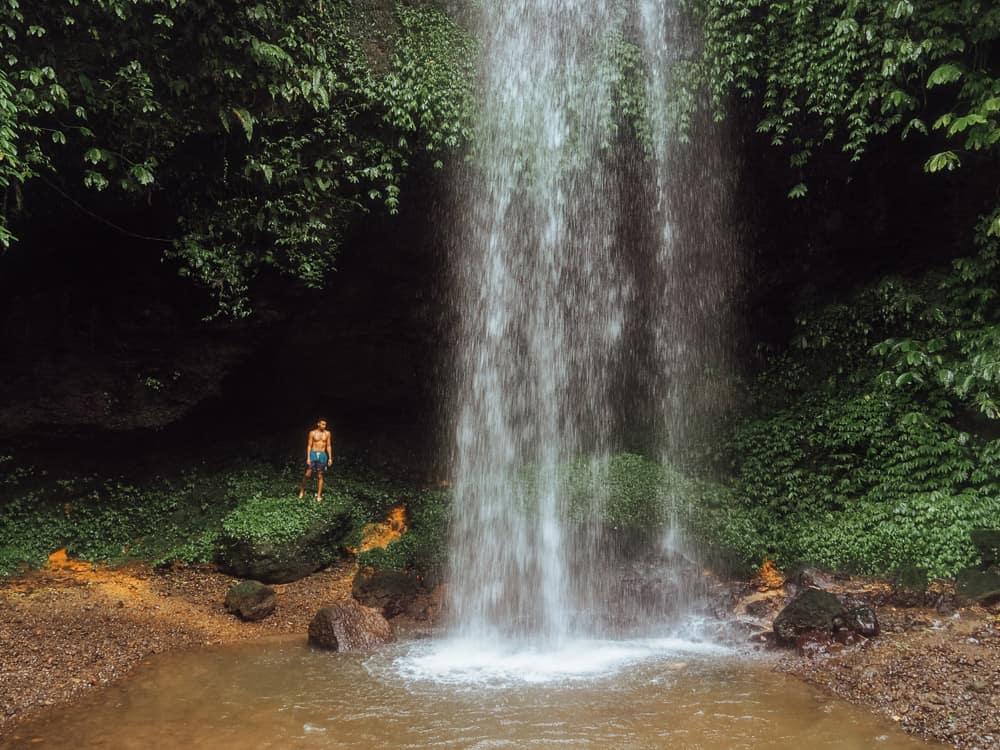 BANYU WANA AMERTA HIDDEN WATERFALL IN BALI, INDONESIA