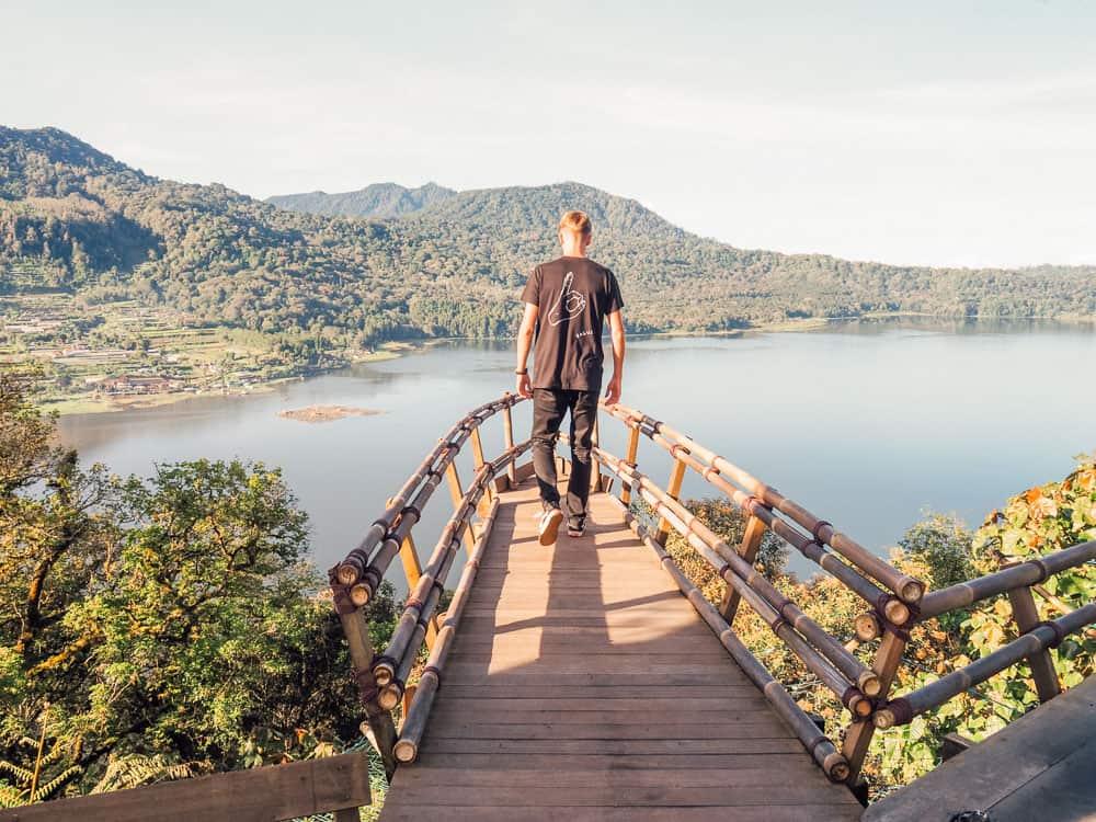 WANAGIRI HIDDEN HILL VIEWPOINT AT LAKE BUYAN, BALI