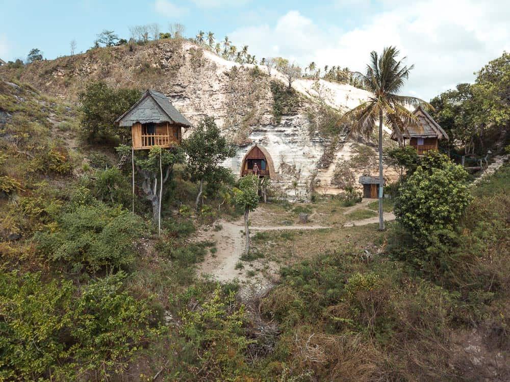 rumah pohon tree house, tree house nusa penida, rumah pohon , rumah pohon tree house nusa penida
