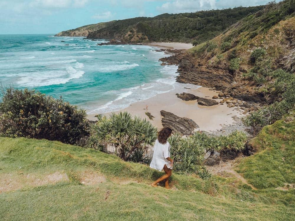 BROKEN HEAD BEACH IN BYRON BAY, AUSTRALIA