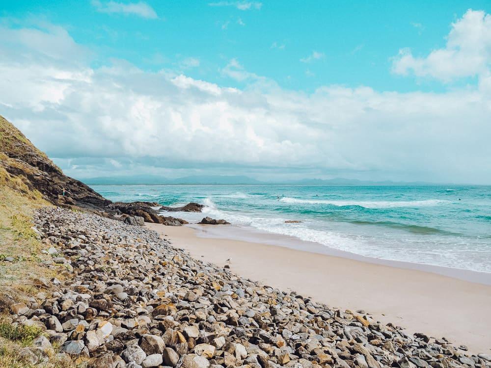 WATEGOS BEACH IN BYRON BAY, AUSTRALIA