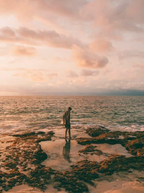 tegal wangi beach