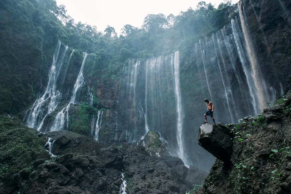 TUMPAK SEWU WATERFALL – THE BEST WATERFALL IN INDONESIA – EAST JAVA