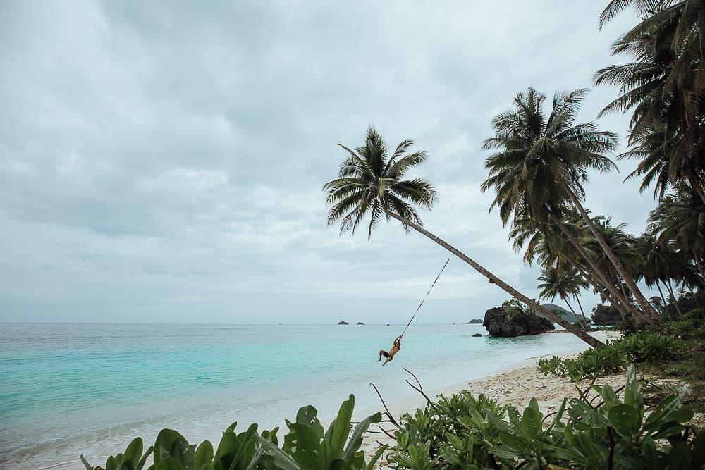 pulau labengki, labengki island, pasir panjang beach
