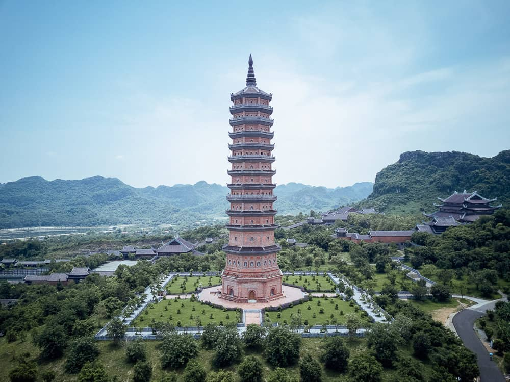 THE BAI DINH PAGODA IN NINH BINH – VIETNAM