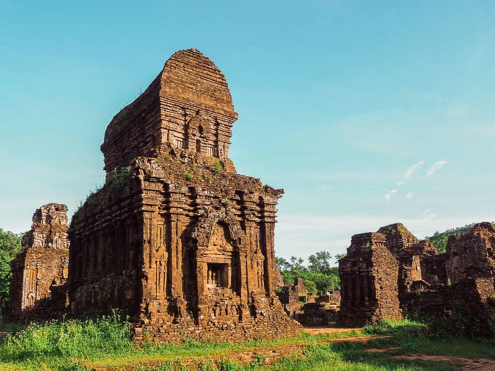 MY SON SANCTUARY TEMPLE – UNESCO SITE – HÔI AN, VIETNAM