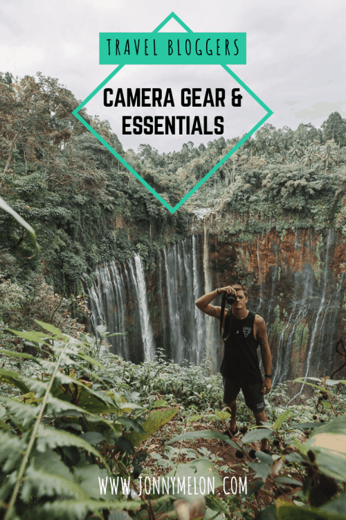 travel bloggers camera gear