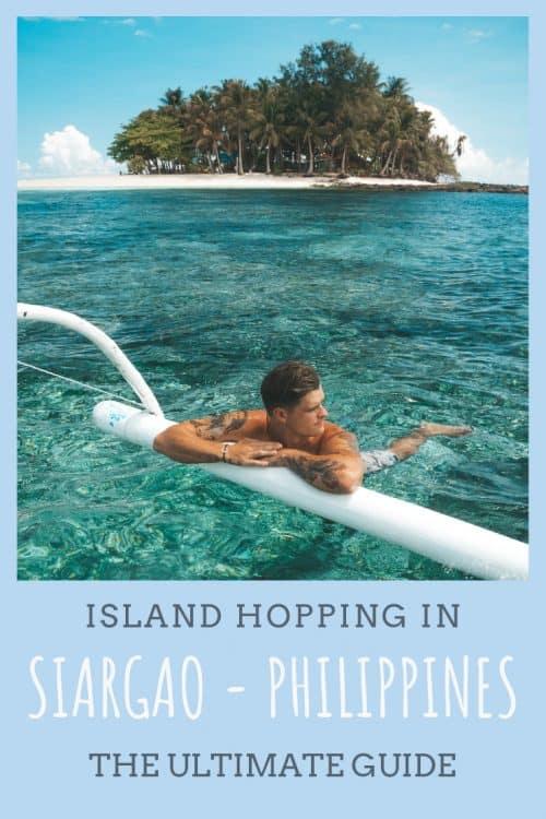 island hopping siargao