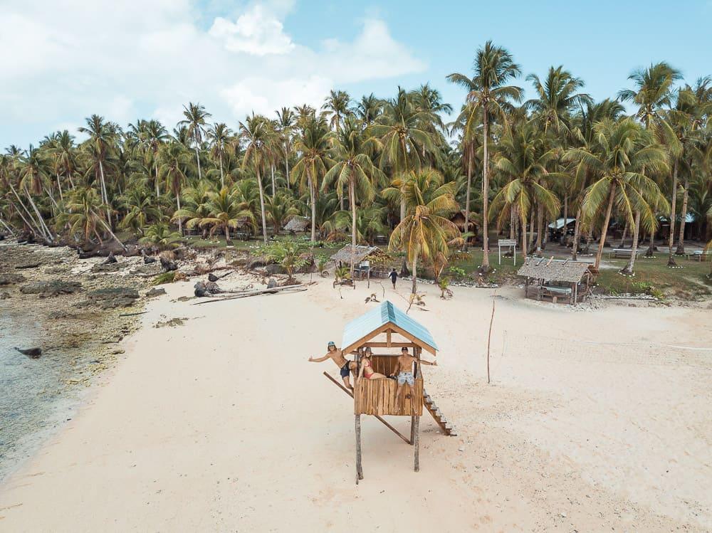 kawhagan island, siargao beaches