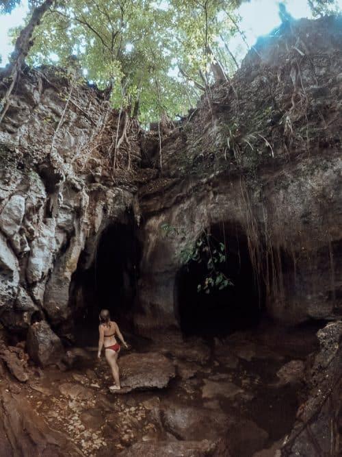 tayangban cave. tayangban cave siargao, tayangban cave pool