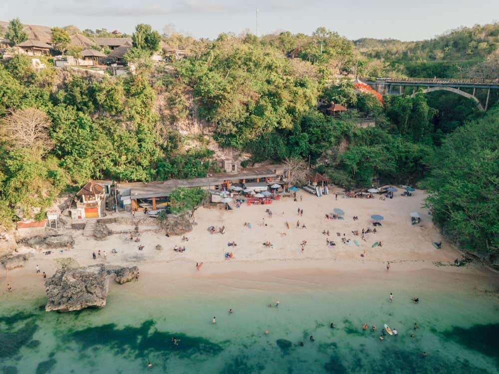 PADANG PADANG BEACH IN ULUWATU – BALI