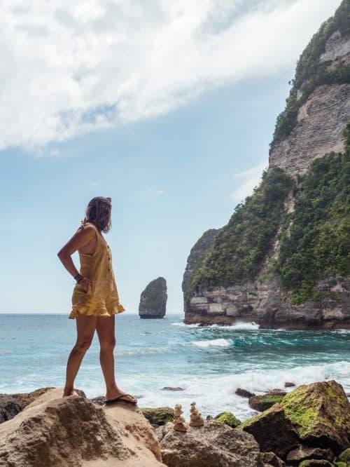 tembeling beach, tembeling forest, tembeling beach nusa penida