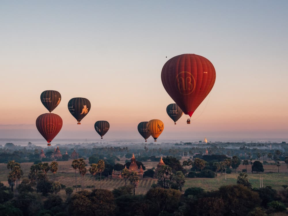 BALLOONS OVER BAGAN – THE ULTIMATE MYANMAR EXPERIENCE