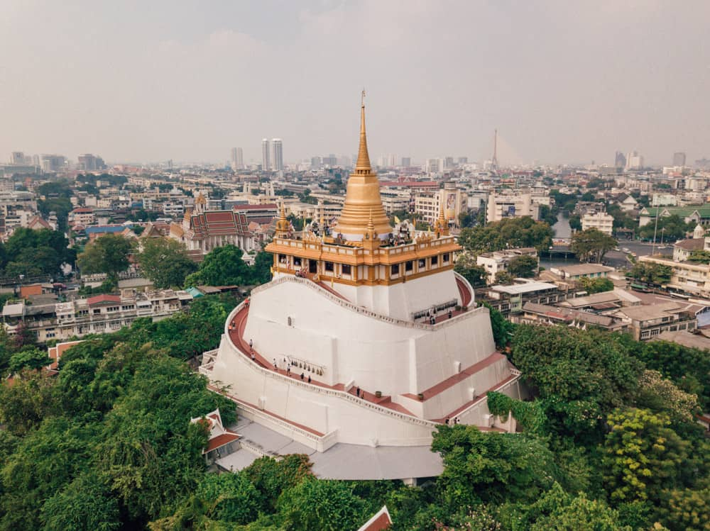 golden moutain bangkok, wat saket temple, things to do in bangkok in 3 days, bangkok itinerary