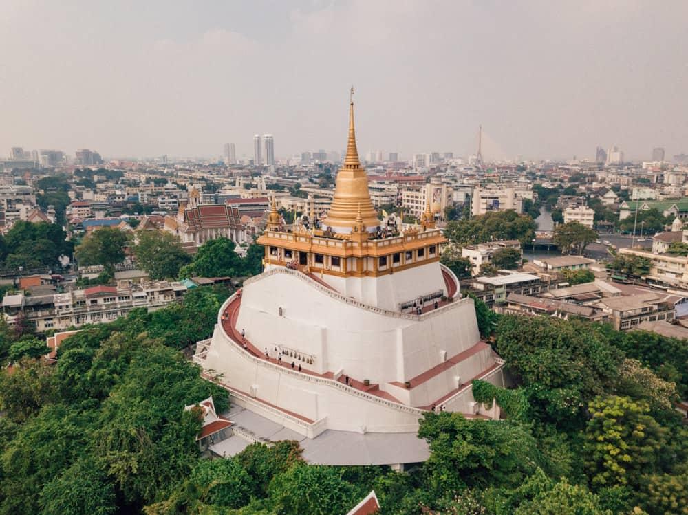 golden moutain bangkok, wat saket temple, things to do in bangkok in 3 days, bangkok itinerary