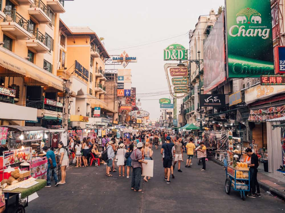 khao san road bangkok, khao san road, things to do in bangkok, bangkok itinerary