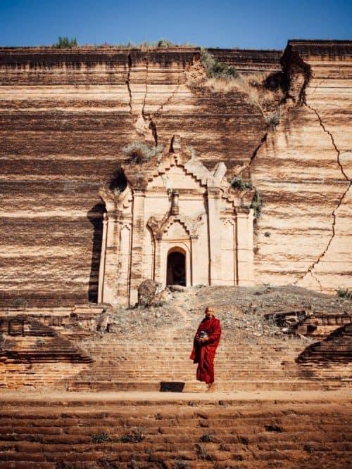 things to do in mandalay, what to do in mandalay, places to visit in mandalay, mandalay what to do, mandalay myanmar points of interest, mandalay burma, mandalay hill, mandalay temple, mingun pagoda, mingun pahtodawgyi, mingun bell