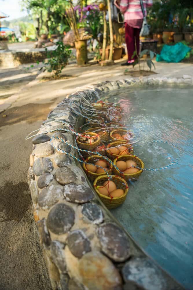 chiang rai tour, things to do in chiang rai, mae kajan hot spring