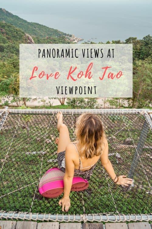 love koh tao, love koh tao viewpoint, koh tao viewpoint