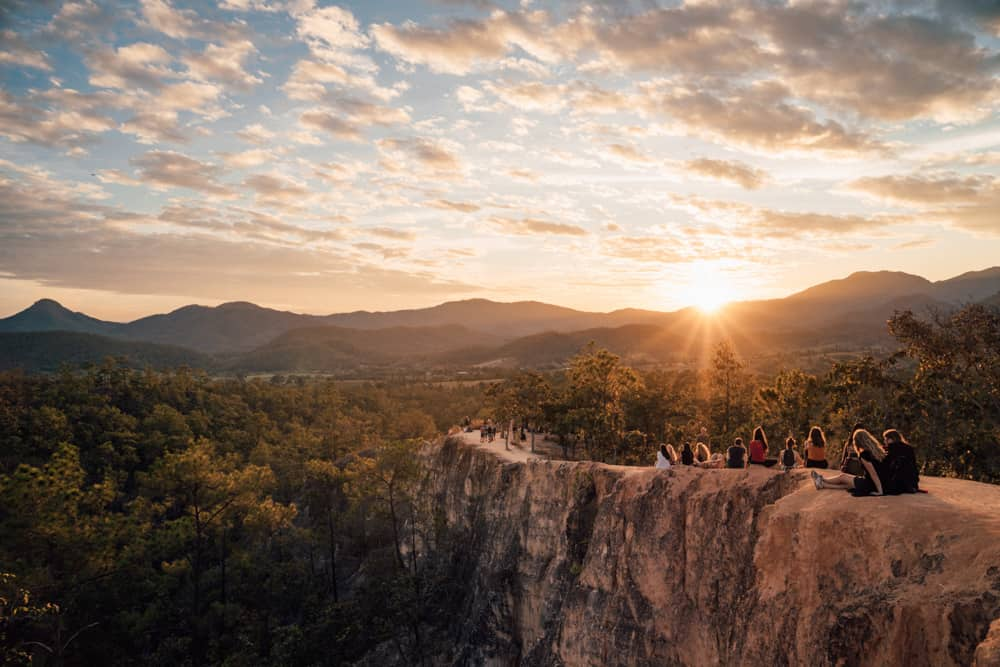 THE PAI CANYON – THE BEST SUNSET VIEWPOINT IN PAI