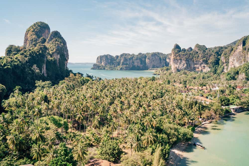 best beaches in krabi, tonsai beach, krabi beach, things to do in krabi, railay beach krabi, railay beach west, west railay beach, east railay beach, railay east beach, raliay viewpoint