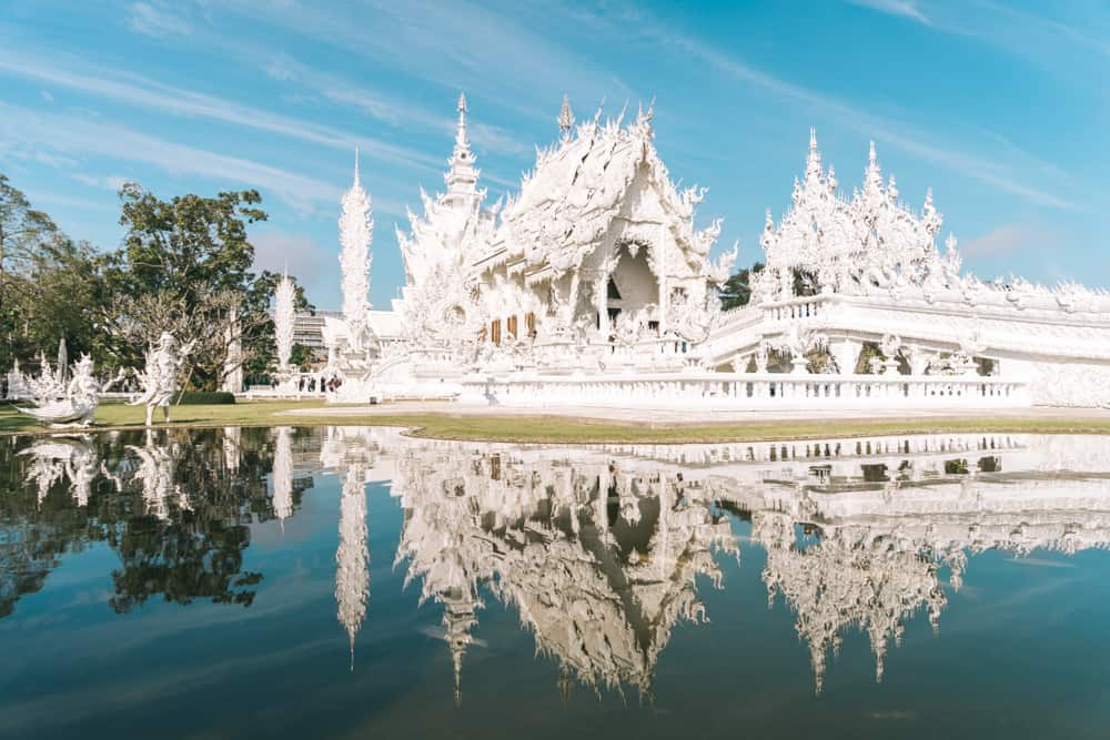 white temple chiang rai, wat rong khun, chiang rai temple, chiang rai white temple, things to do in chiang rai
