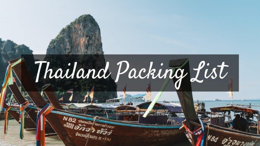 Thailand Packing List e1551010346365