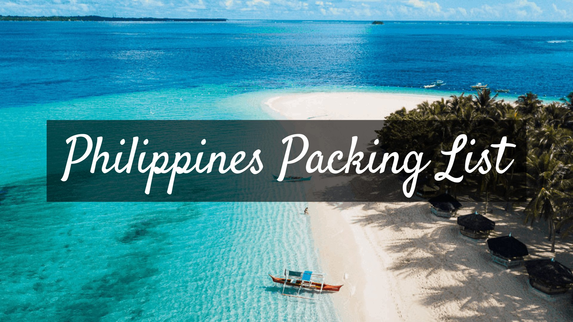 philippines Packing List 1