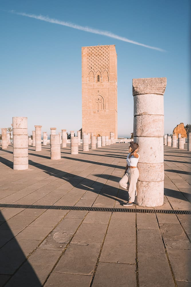 morocco itinerary, 10 days in morocco, morocco itinerary 10 days, best places to visit in morocco, best morocco tours, morocco travel blog, travel talk morocco, morocco travel itinerary, 10 days morocco itinerary, backpacking morocco, hassan tower, rabat