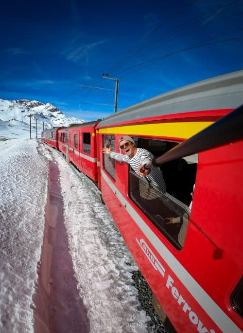 glacier express, switzerland itinerary, glacier express switzerland, landwasser viaduct, bernina express