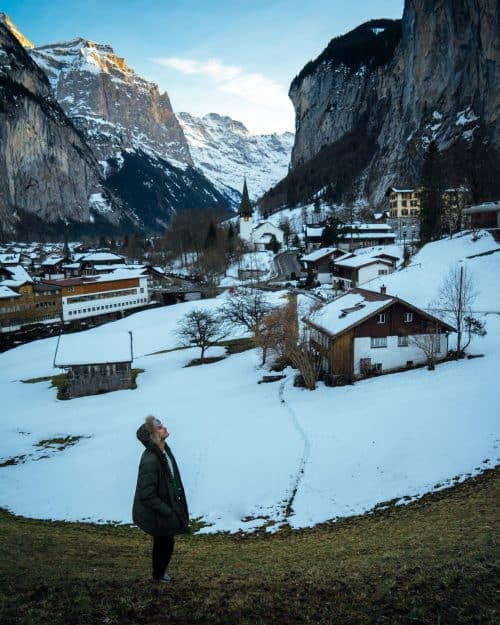 switzerland itinerary, lauterbrunnen
