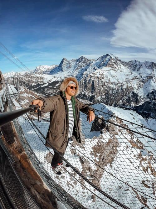 switzerland itinerary, mount schilthorn, mt schilthorn, swiss travel pass