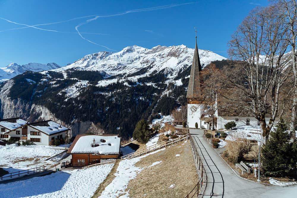 switzerland itinerary, swiss travel pass, wengen village