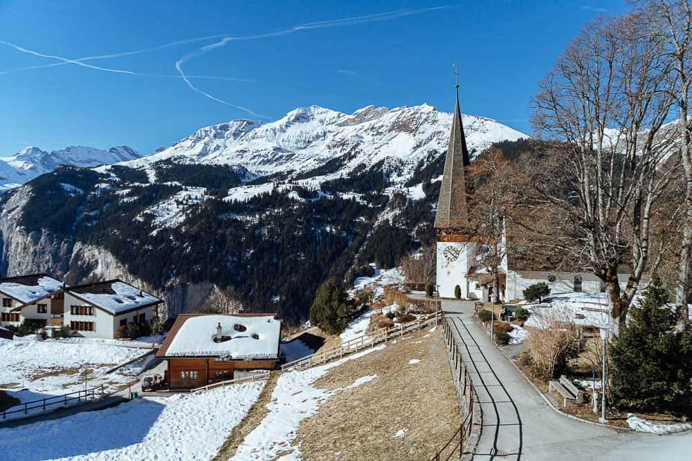 switzerland itinerary, swiss travel pass, wengen village