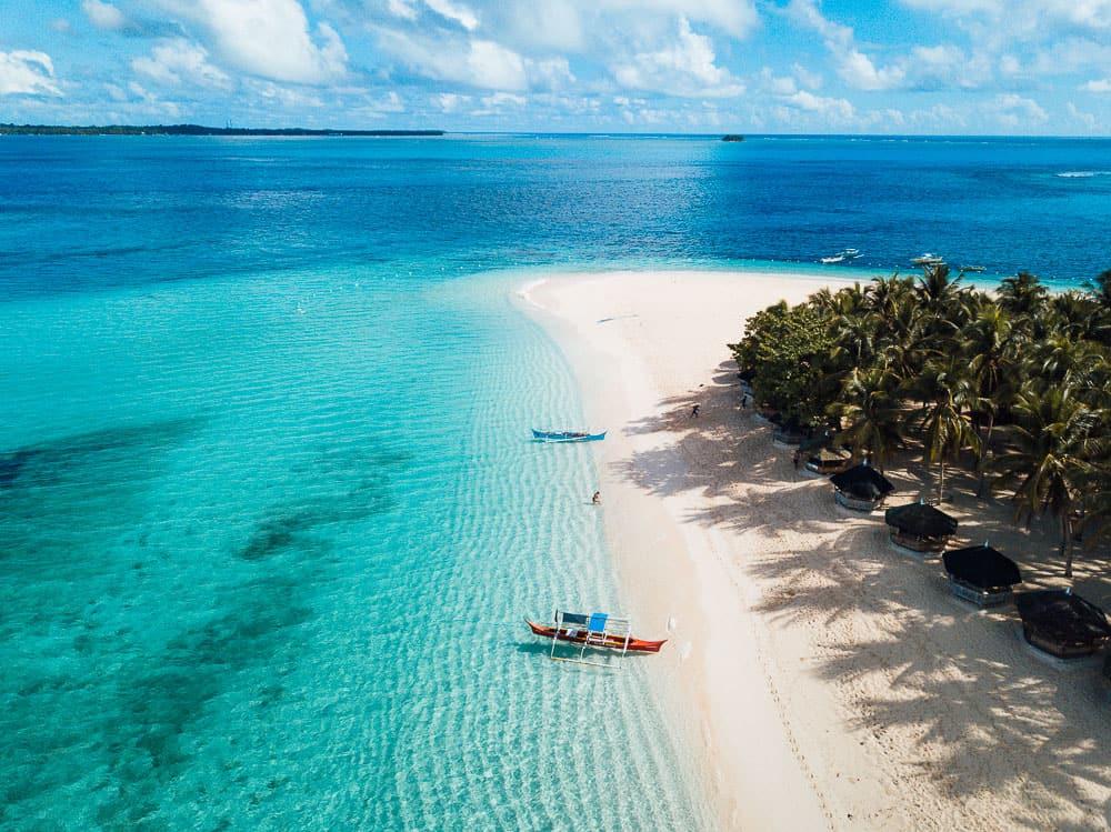 daku island, siargao beaches