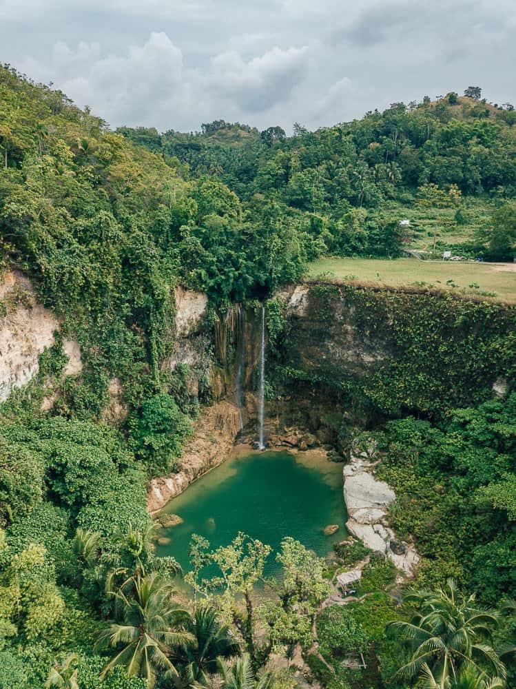 camugao falls bohol, camugao falls, bohol waterfalls, best waterfalls in bohol