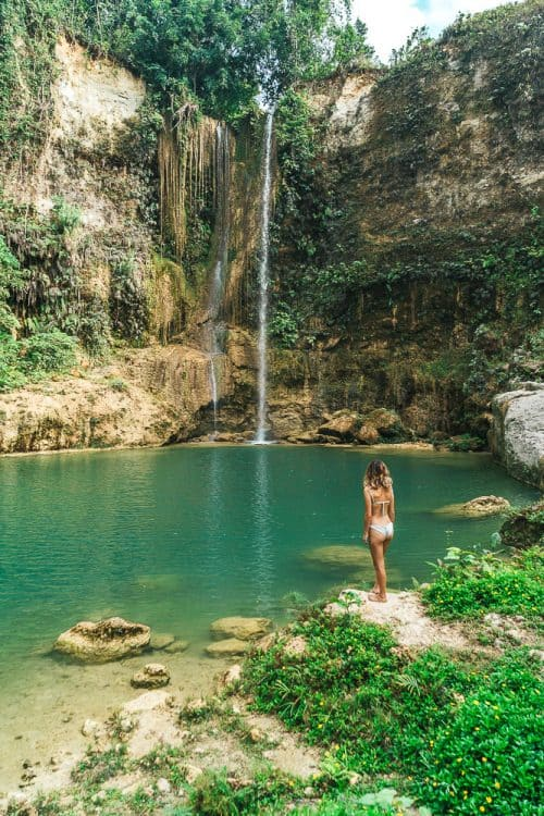 camugao falls bohol, camugao falls, bohol waterfalls, best waterfalls in bohol