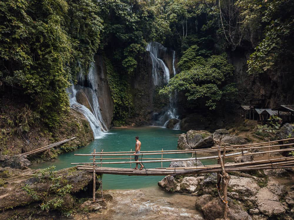 dimiao twin falls, dimiao falls, pahangog falls, dimiao falls bohol, dimiao twin falls in bohol, best bohol waterfalls, bohol waterfalls, best waterfalls in bohol, bohol tourist attractions