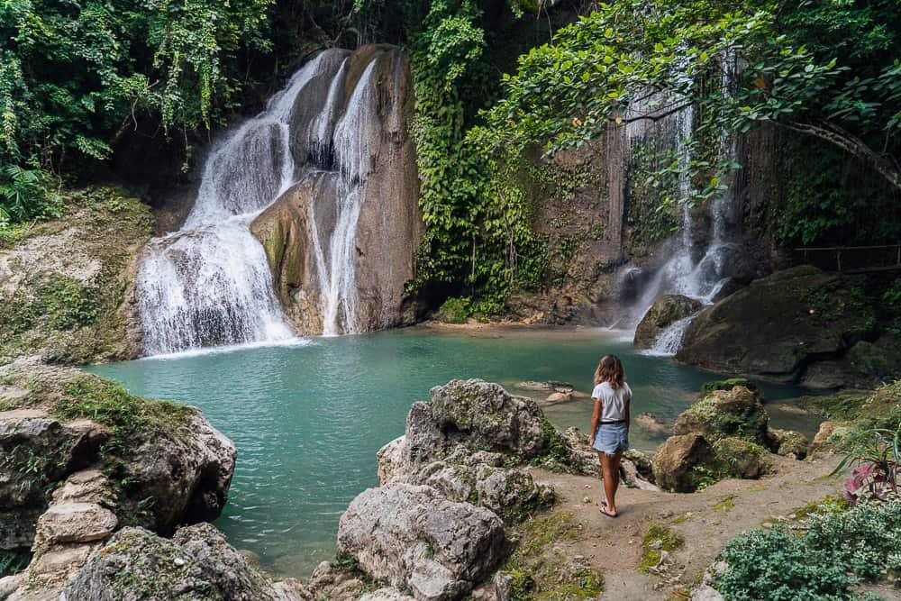 dimiao twin falls, dimiao falls, pahangog falls, dimiao falls bohol, dimiao twin falls in bohol, best bohol waterfalls, bohol waterfalls, best waterfalls in bohol, bohol tourist attractions