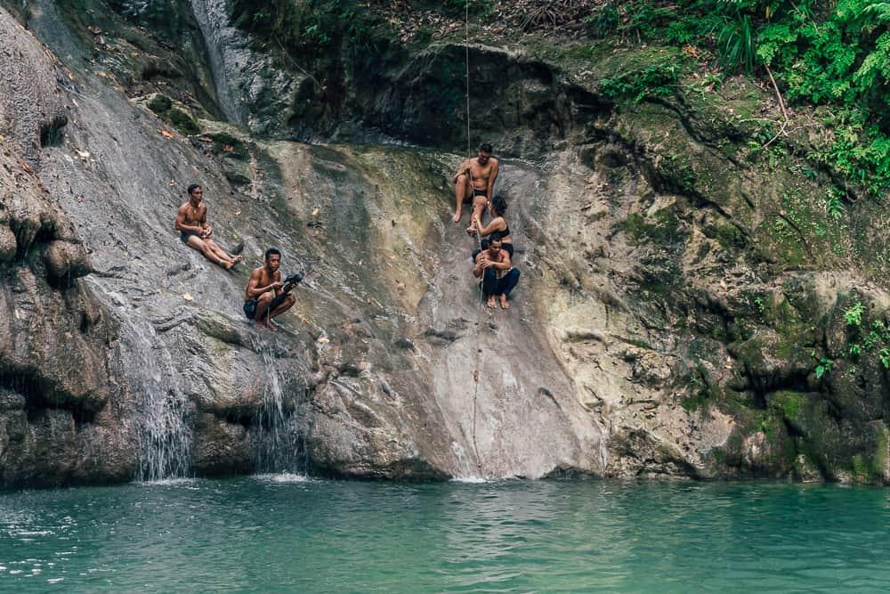 ingkumhan falls, ingkumhan falls bohol, best bohol waterfalls, waterfalls in bohol, bohol waterfalls