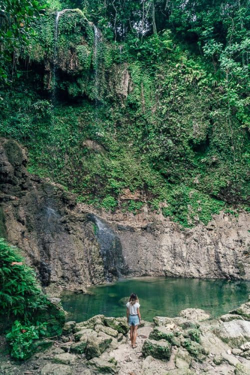 kawasan falls bohol, waterfalls in bohol, best waterfalls in bohol