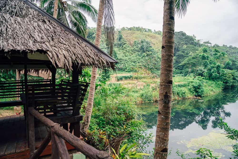 kawasan falls bohol, waterfalls in bohol, best waterfalls in bohol