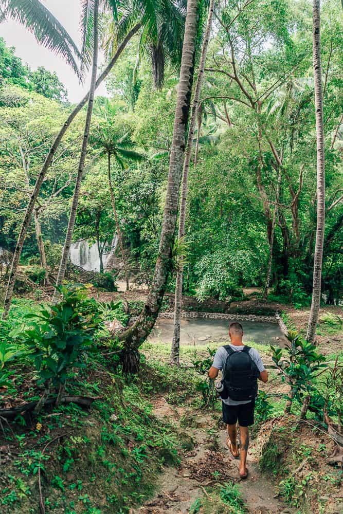 kinahugan falls, kinahugan falls jagna, kinahulugan falls, kinahugan falls bohol, waterfalls bohol, bohol waterfalls, waterfalls in bohol, best bohol waterfalls, best waterfalls in bohol, kinahugan waterfall