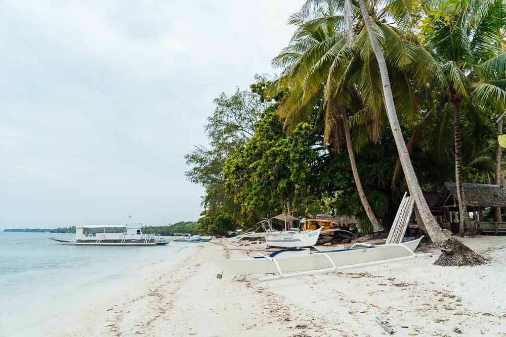 momo beach panglao, best bohol beaches