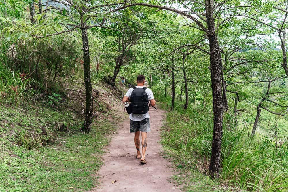 walkway to the old volcano, camiguin tourist spots, mt vulcan, mt vulcan hike