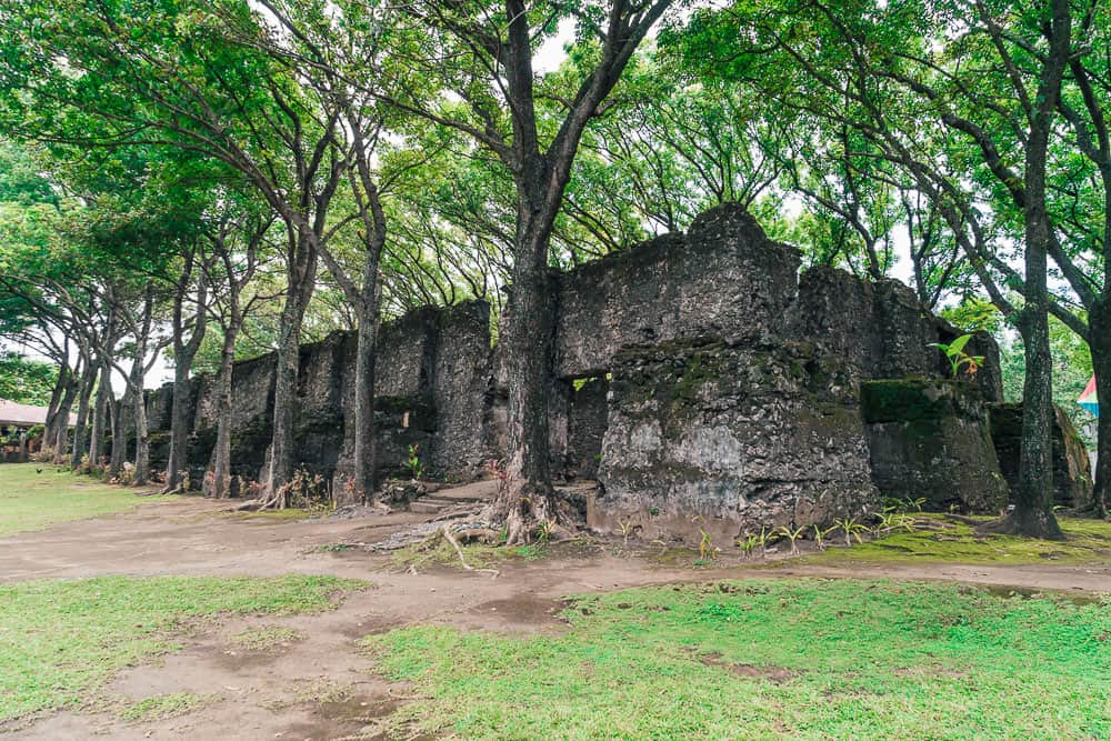 old chruch ruins in camiguin, old church ruins camiguin, old spanish church camiguin, spanish church camiguin, camiguin tourist spots, old church camiguin