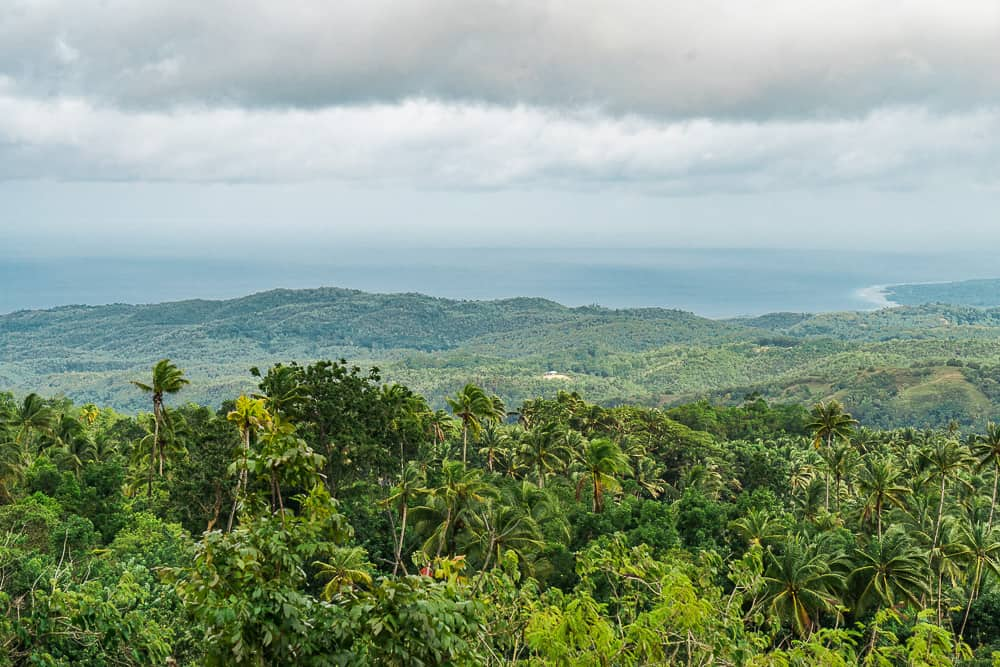quisol mountain view, siquijor viewpoint